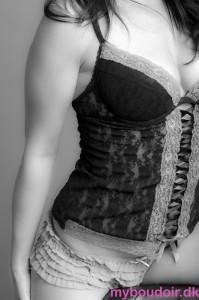 Close-up boudoir