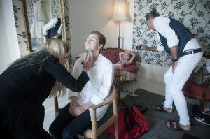 Bryllup i slotsparken